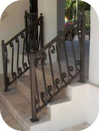 exterior stair railings u2013 avion metal works of florida