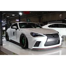 frs with lexus bumper aimgain front bumper
