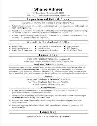 monstercom resume templates monstercom resume templates sle for a retail sales clerk cv