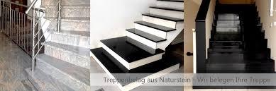 treppen aus granit prozmann naturstein und treppenbau