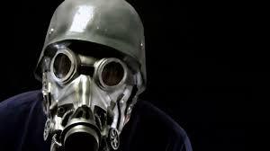 Halloween Costume Gas Mask Chemical Warfare Gasmask Latex Halloween Mask Onna Minions Head