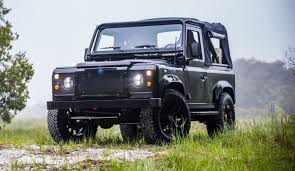 land rover defender 2017 this blacked out land rover defender is overflowing with stealthy