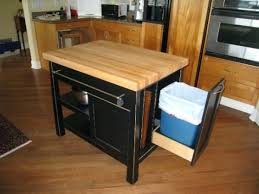 kitchen island trash bin kitchen island with trash can deluxe kitchen cart with hideaway