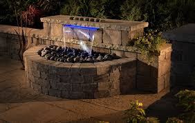 outdoor water features with lights backyard water feature kits all for the garden house beach backyard