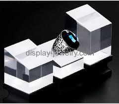 acrylic crystal ring holder images Custom acrylic jewelry display rack acrylic display stand ring jpg&a