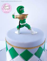 design a cake mighty morphin power ranger cake and cupcakes cakecentral