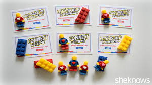 edible legos lego inspired s day cards and candies for your