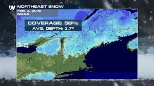 Snow Depth Map Lake Effect Snow Buries Upstate New York Town Weathernation