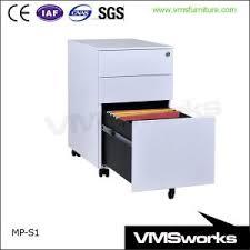Media Storage Pedestal China Side Pull Handle Office File Storage Mobile Pedestals Units