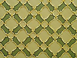 green gold ornaments texture theme skin your device