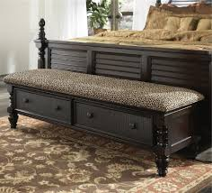 bench king size bench pertaining to top bedroom ottoman bench