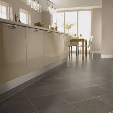 flooring ideas cream natural stone kitchen tile flooring with