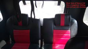 mahindra thar modified seating fourknotfour my black mahindra thar crde refreshed edition
