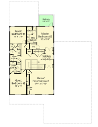 net zero ready house plan with game room 33184zr architectural