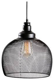 Industrial Pendant Light Vintage Style Industrial Pendant Light Mesh Chandelier Lighting
