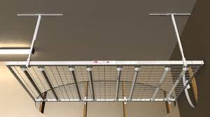 homemade garage ceiling storage racks home painting ideas