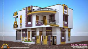 duplex house plan and elevation sq ft kerala home with wondrous