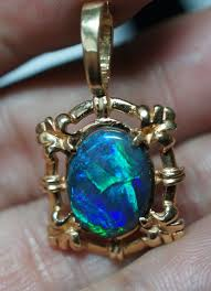 opal necklace setting images 222 best fire opal blue images fire opals silver jpg