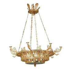 Neoclassical Chandeliers A Pair Of Russian Neoclassical Style Ormolu Eight Light Ch