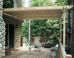 Deck Awnings Retractable How To Shade Your Deck Or Patio Deck Canopy Canopy And Decking