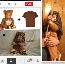 Baby Led Light Suit Halloween Costume by Baby Ewok Costume Diy Nailed It Pinterest Baby Ewok Costume