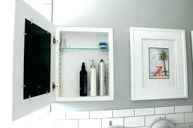 picture frame medicine cabinet how to frame a medicine cabinet recessed medicine cabinets with
