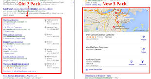 Google Maps Boston Ma by Google Snack Pack Update The Local 7 Pack To The 3 Pack