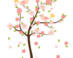 cherry blossom tree clip clipart panda free clipart images