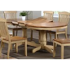 gatsby oval dining table double butterfly leaf honey u0026 sand