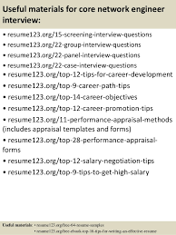Resume Samples For Network Engineer by Top 8 Core Network Engineer Resume Samples