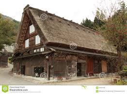 japanese traditional house stock photo image 57991392