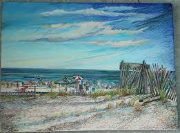 beach scene paintings