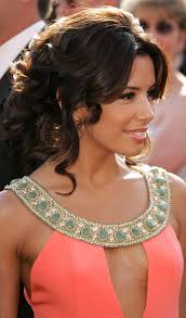 lady neck hair 15 glamorous updos for curly hair