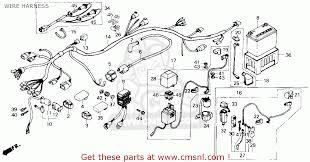 1991 honda fourtrax 300 trx300 wire harness parts u2013 best oem wire