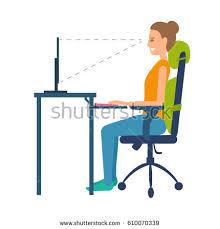 Ergonomic Desk Position Ergonomic Stock Images Royalty Free Images U0026 Vectors Shutterstock