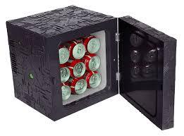 Small Under Desk Refrigerator Star Trek Borg Cube Fridge Thinkgeek