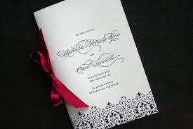 easy wedding programs wedding program booklet a photo on flickriver