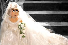 vivienne westwood wedding dress miss piggy s vivienne westwood wedding dress fashion news