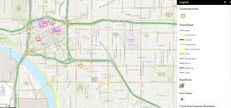 map of tulsa map many roads in tulsa to be closed for annual tulsa tough
