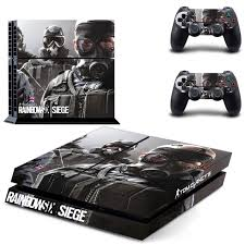 siege sony tom clancy s rainbow six siege ps4 skin sticker for sony