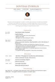 real estate broker resume samples visualcv resume samples database
