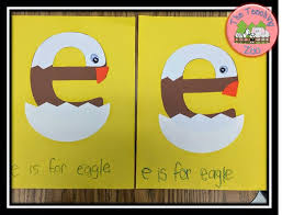 letter e crafts the teaching zoo letter of the week e