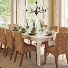 Decorating Charming Seagrass Dining Chairs For Inspiring Dining - Pier one dining room table