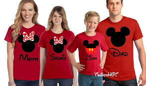 mickey and minnie shirts matching family disney shirts