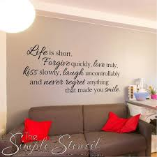 Wall Quotes For Living Room by 42 Best Wall Quotes Images On Pinterest Wall Design Wall Quotes