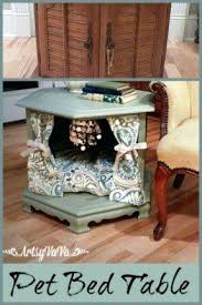 dog beds made out of end tables end table dog bed pfafftweetrace com