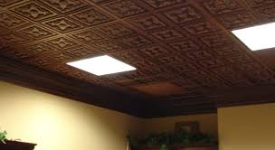 Painting Drop Ceiling by Spray Painting Ceiling Tiles Lader Blog