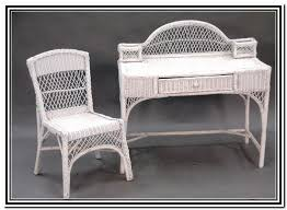 Wicker Vanity Set Appealing White Wicker Vanity Set 26 For Your Modern Decoration