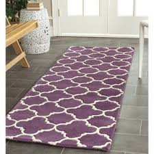 Mauve Runner Rug Purple Runner Rugs Home Rugs Ideas