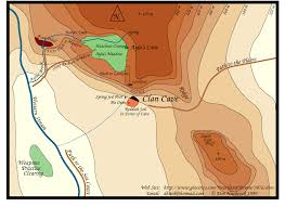 Local Map Clan Of The Cave Bear Local Map